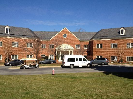 Rizzo Conference Center : Rizzo Center, Main building