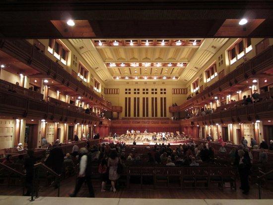Lenox, ماساتشوستس: Tanglewood concert performance