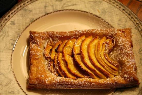 L'Auberge d'Hermance : Breakfast tart