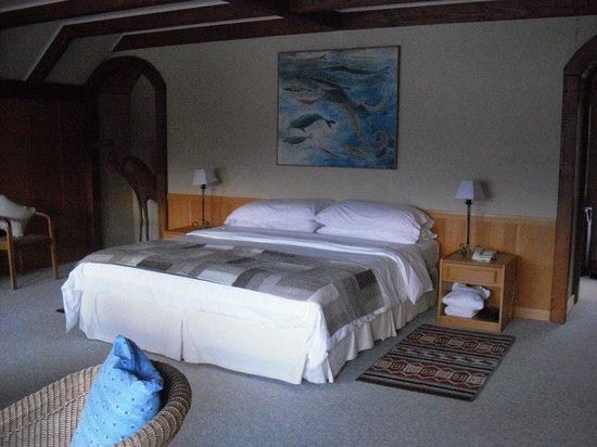 Puyuhuapi Lodge & Spa: the room