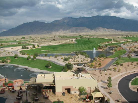 Sandia Resort & Casino: Mountain view