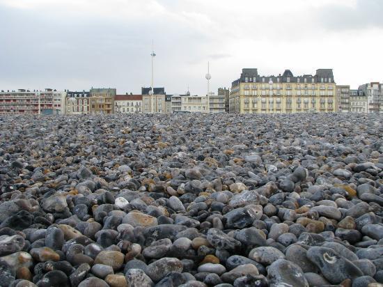 Hotel de Dieppe: Hotel vue de la plage