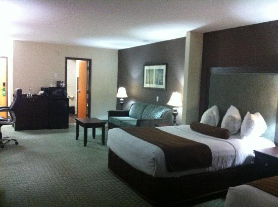 Coast Lethbridge Hotel & Conference Centre : Beds