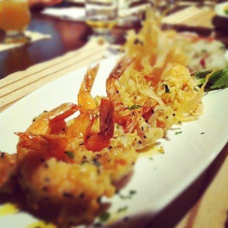 Restaurante X: O molho de maracujá torna o prato especial!