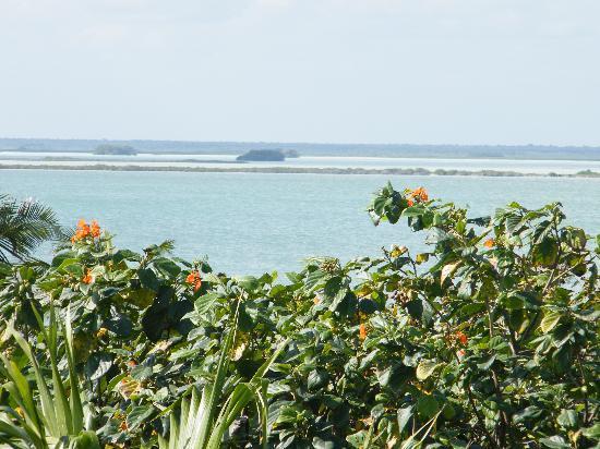 Cesiak Centro Ecologico Sian Ka'an: view to estuary of sian ka'an