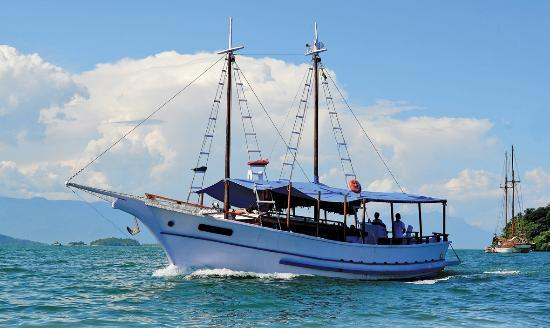 Baía de Paraty: Escuna Dona Geralda