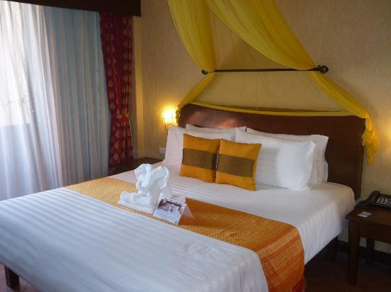 Club One Seven Phuket: Our delux room