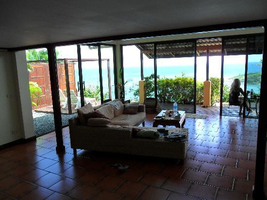 Tongson Villas: The living area!