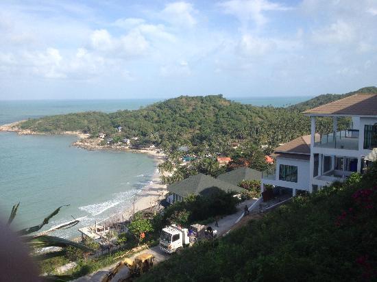 Tongson Villas: The view!