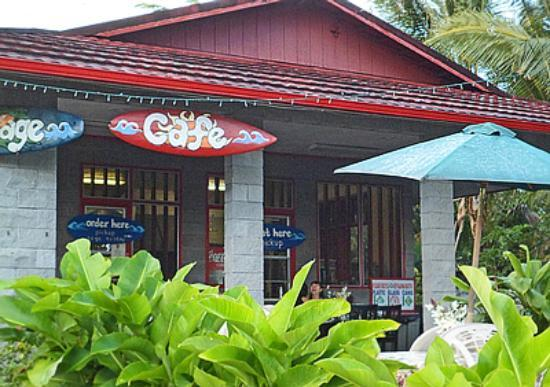 Kalapana Village Cafe: Order food here at a window