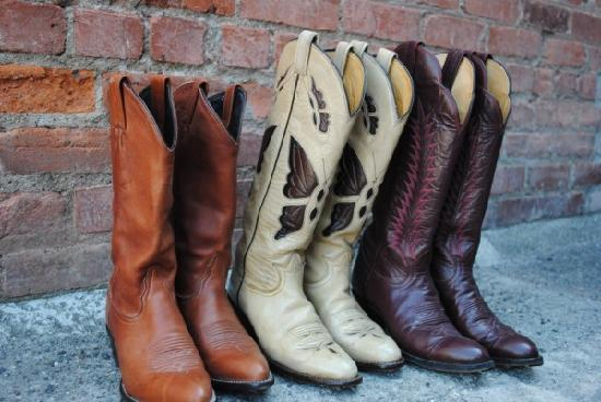 Bend, OR: American made, broken in, quality boots!