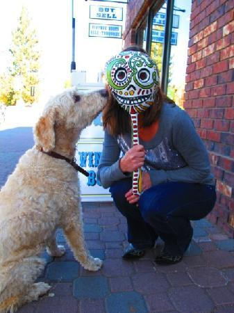 Bend, OR: Come meet Clyde the shop dog.