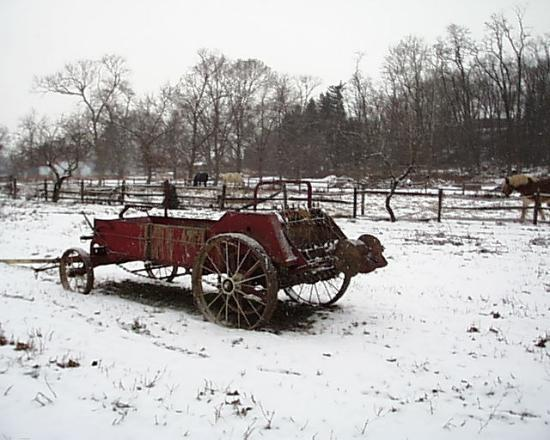 Antique Farm Equipment Is Still In Use At Landis Valley Museum