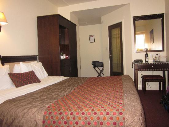 Trinity Hotel: Room Layout