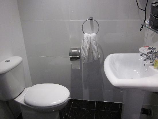 Trinity Hotel: Compact Bathroom