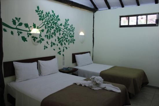 Hotel Posada Sian Ka'an: La stanza basica El Arbol