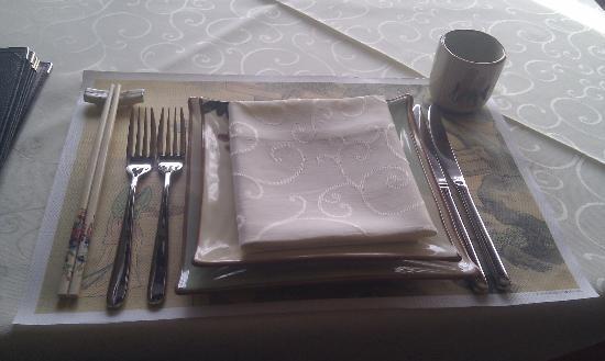 Wong Ho: I dettagli della tavola...