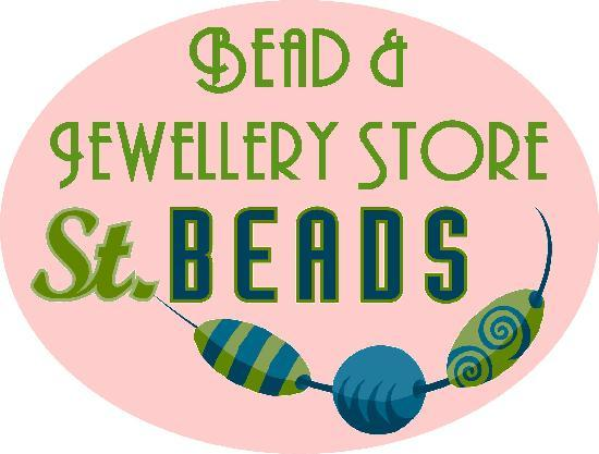 St Beads - Bead Store : Store sign
