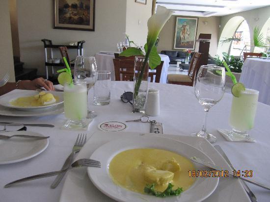 Hotel El Gran Marqués: Excelente servicio restaurant Los Principes