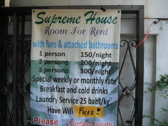 เอส เค เฮ้าส์ วัน: Most hotels and restaurants nearby offer FREE wifi