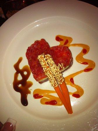 Samurai Restaurant: Special Valentines Maguro! yum!