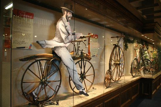 Science Museum Oklahoma: The bicycle exhibit.