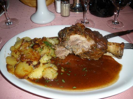 Marjellchen: Stinco con patate..una leccornia
