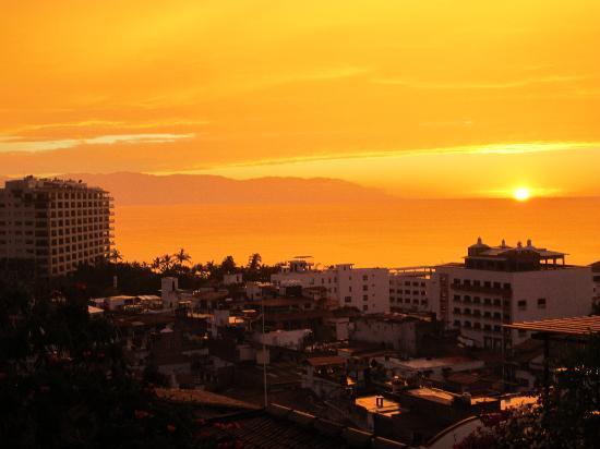 Villa Franchesca: gorgeous sunsets