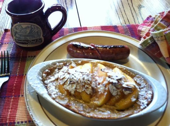 Strawberry Creek Inn: breakfast