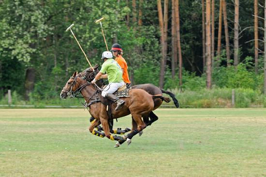 Schlossgut Schonwalde: Polo Training