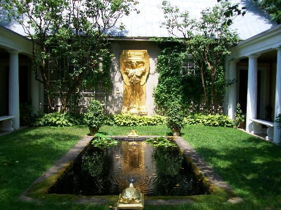 Saint-Gaudens National Historic Site: sculpture at Saint-Gaudens