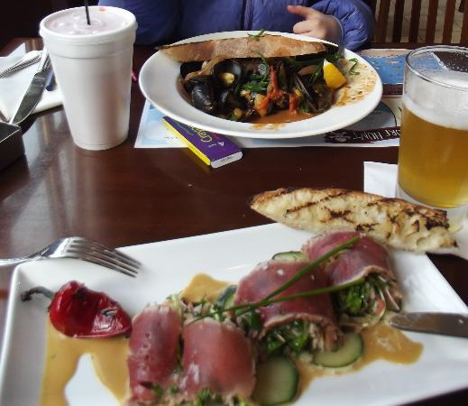 Oceano Bistro: Tuna and Mussels