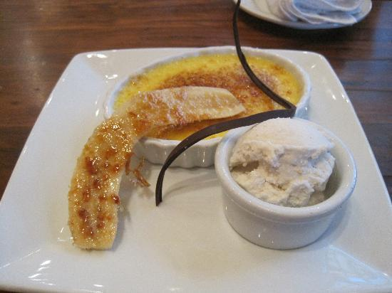 Kona Cafe: Banana Chocolate Creme Brulee