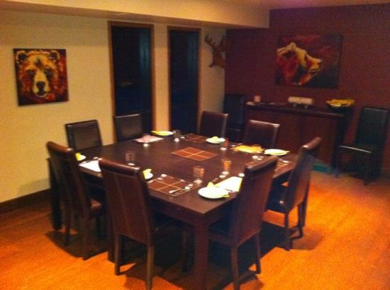 Home Lodge: Dining Room