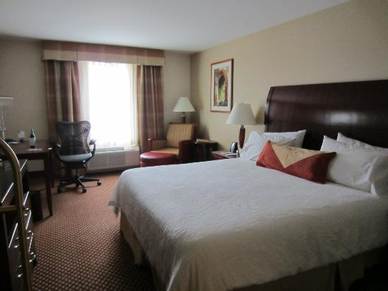 Hilton Garden Inn Riverhead: The room