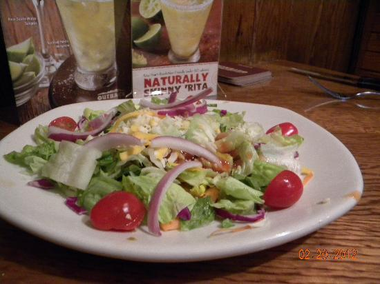 Outback Steakhouse : Dinner salad
