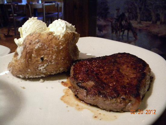 Outback Steakhouse: Victorias filet