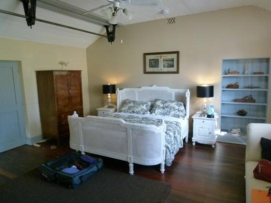 North Star Inn Restaurant: Bedroom in the old workshop