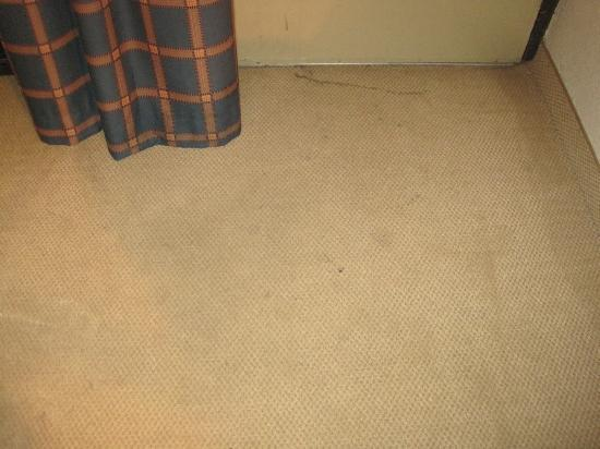 Motel 6 Conyers GA: Stains...