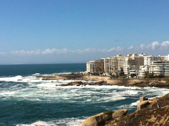 New Kings Hotel: looking back at seapoint / bantry bay from Clifton