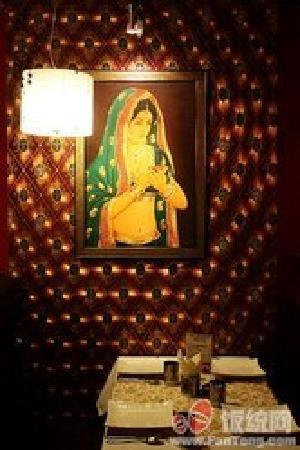 mirch masala indian restaurant : the photo on the wall