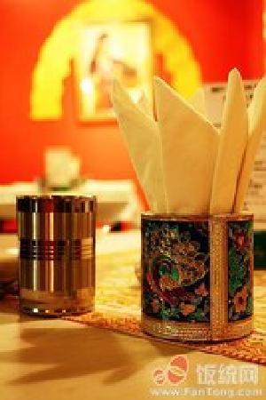 mirch masala indian restaurant : tissue holder