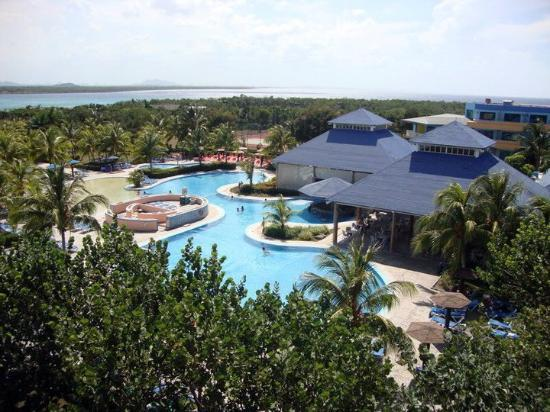 Blau Costa Verde Beach Resort: The resort vie from our room