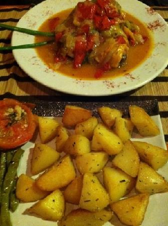 Refuge : basque chicken leg