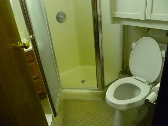Kawada Hotel: お湯が出ないシャワールーム