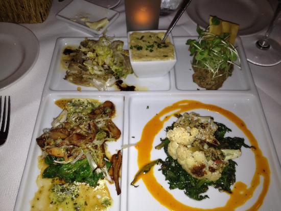 The Gathering Table Restaurant: All veggie bento box!