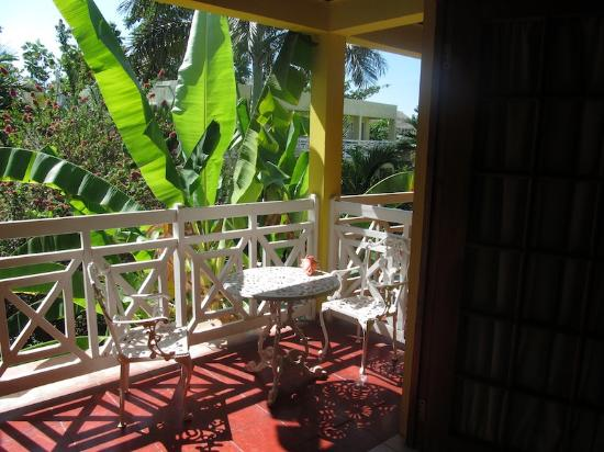 Negril Relax: Our veranda.