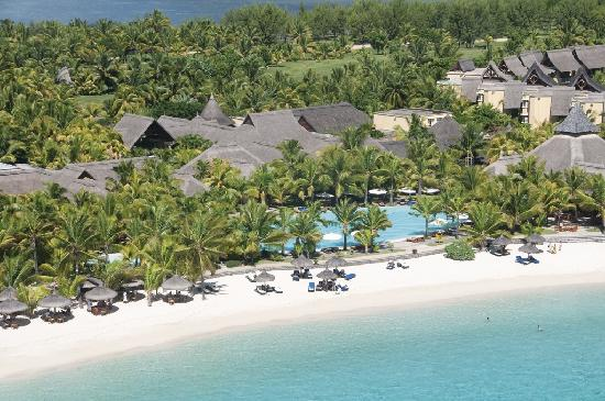 Paradis Beachcomber Golf Resort & Spa: Aerial view