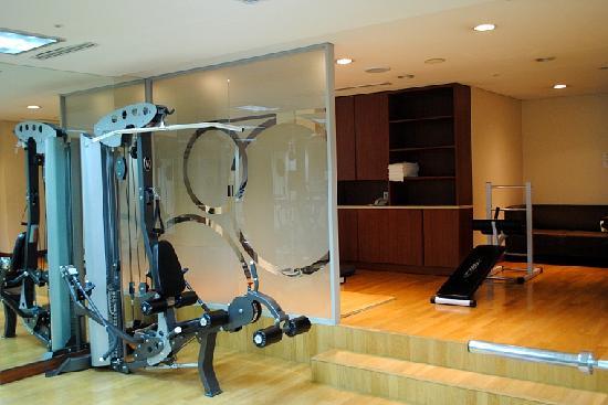 โรงแรมเบสท์ เวสเทิร์น พรีเมียร์ กังนัม: Fitness Studio