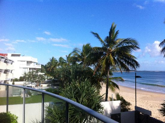 On The Beach Noosa: View from balcony